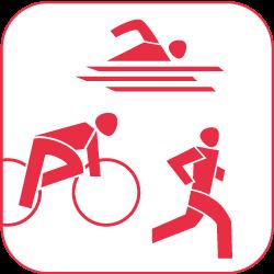 Turnen, Leichtathletik, Triathlon